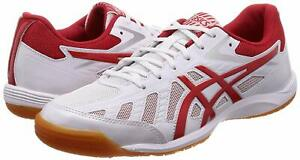 Details zu Asics Japan ATTACK HYPERBEAT SP 3 Table Tennis Shoes 1073A004 White Red