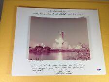 Skylab III Autograph Jerry Carr Astronaut Photo PSA/DNA COA LOA Grade 9 Mint