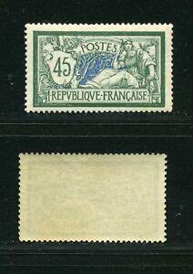 FRANCE-N-143-TYPE-MERSON-034-45c-VERT-ET-BLEU-034-NEUF-XX-TTB