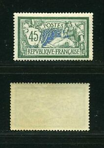 FRANCE-STAMP-TIMBRE-N-143-034-MERSON-45c-VERT-ET-BLEU-034-NEUF-XX-TTB