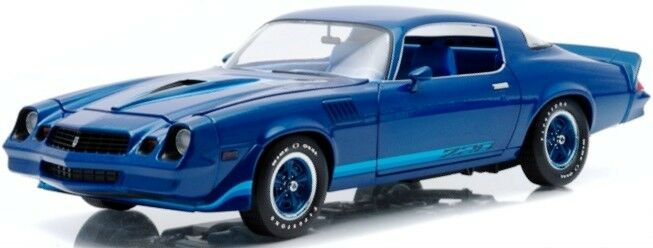 1979 Camaro bleu 1 18 12904