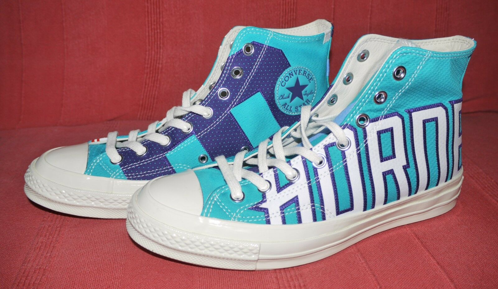Converse Chuck 70 NBA Gameday Charlotte Hornets (Size 8 UK) CTAS - NEW w o Box