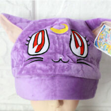 7836187ee86 item 6 sailor moon purple luna cat plush hat cosplay hats warm game cap  HT22 -sailor moon purple luna cat plush hat cosplay hats warm game cap HT22