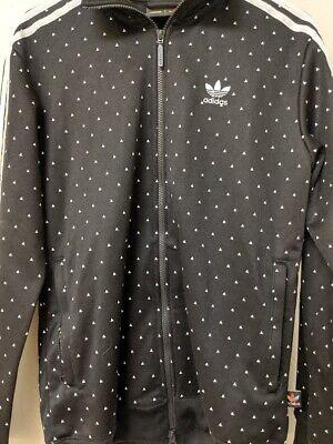Adidas Original BR1821 Pharrell Williams HU Track Jacket BlackWhite Mens S   eBay