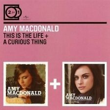 AMY MACDONALD - 2 FOR 1: THIS IS THE LIFE/A CURIOUS THING 2 CD NEU