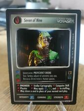 Star Trek CCG The Borg Seven of Nine 61R