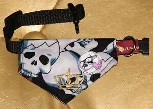 7311-Angeldog-Hundekleidung-Hundehalstuch-Hundehalsband-mit-Tuch-chihuahua-XXS