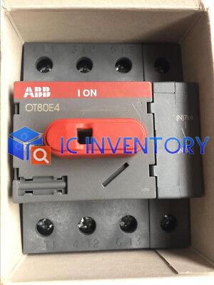 1PCS New ABB Switch OT80E4 OT80E4