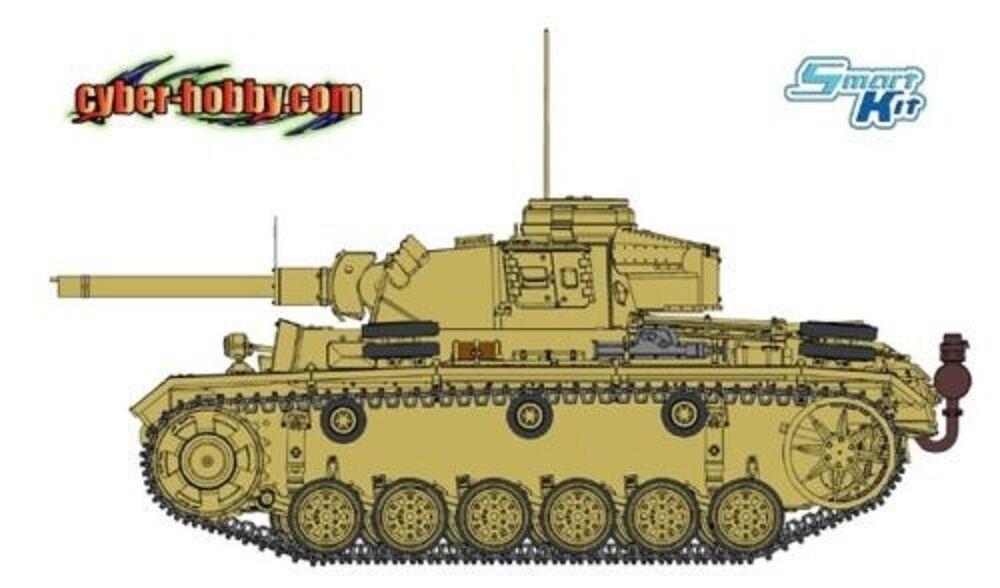 DRAGON GERMAN PANZER III (FL) Scala 1 35 Cod.6616