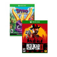 Red Dead Redemption 2 for Xbox One by Rockstar Games + Spyro Reignited Trilogy for Xbox One