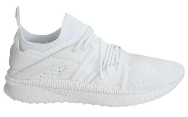 Puma Ignite TSUGI Blaze evoKNIT Mens Lace Up White Textile Trainers 364408  04 P6 930292e2199