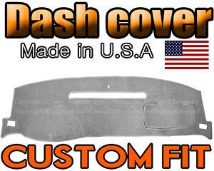 fits 2007-2014  GMC  YUKON  DASH COVER MAT DASHBOARD PAD  /  LIGHT  GREY