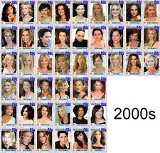 Actresses of the 2000s Movie Trading Cards Hayek Geller Portman Dunst Okenodo