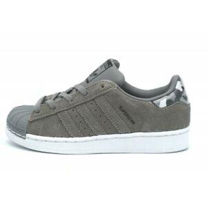 Adidas Superstar Grey/Camo - Baskets Chaussures basses Enfant ...