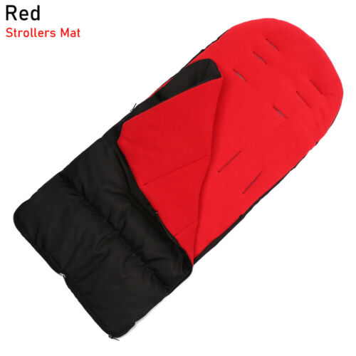 Strollers Mat Trolley Foot Cover Baby Sleeping Bag Cotton Cushion Double Zipper