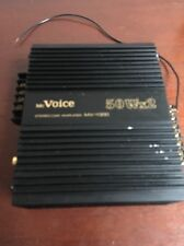 McVoice MV-1000 100 Watt Vintage / Rare Car Amplifier Display Board Unit