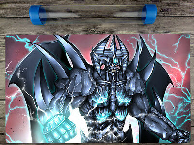 Yu-Gi-Oh Obelisk the Tormentor Trading Card Game Duel playmat Free Best Tube