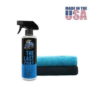 Last Coat 16 oz. TLC2 (Auto Polish/Sealer 2 GSM 400 Towels (Not F11 Topcoat)