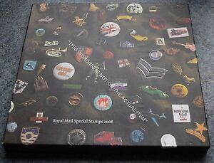 Royal-Mail-Special-Stamps-Year-Book-25-for-2008-Complete-with-all-Stamps