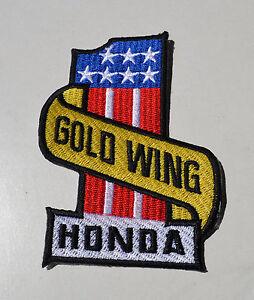 Goldwing-GL-1800-No-1-GL1500-Patch-Aufnaeher-Aufbuegler-Biker-Cruiser-Badge-USA