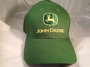 f1a110bca35dc John Deere Green Tractor Golf Trucker Hat Cap Ballcap Adjustable ...