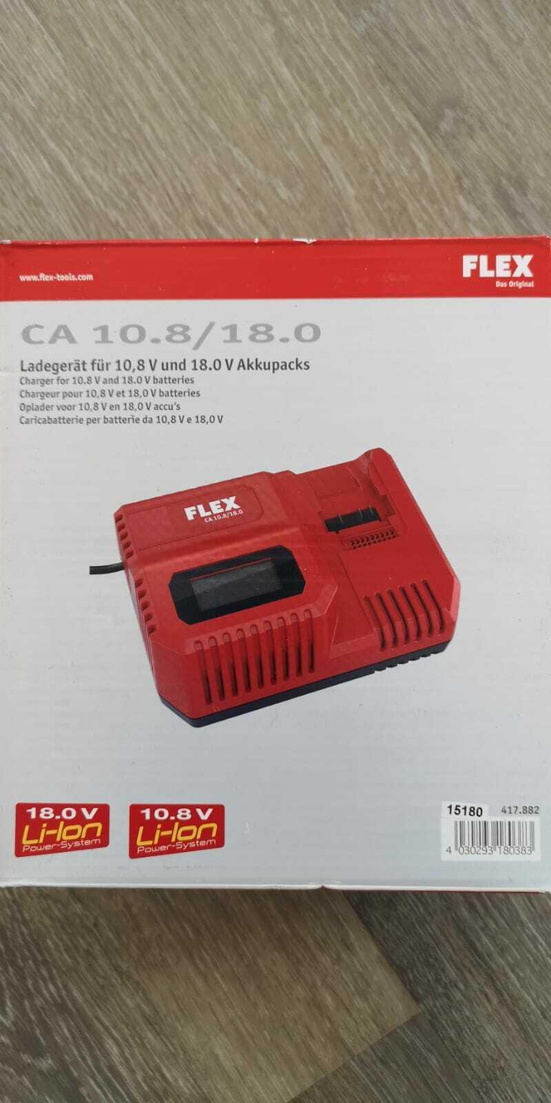 FLEX Schnellladegerät CA 10.8 18,0