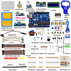Details about Adeept Basic Starter Learning Kit for Arduino UNO R3 with  Tutorial Beginners