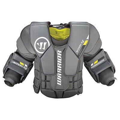 Warrior Ritual G2 hockey goalie chest protector senior large new goal pads arms