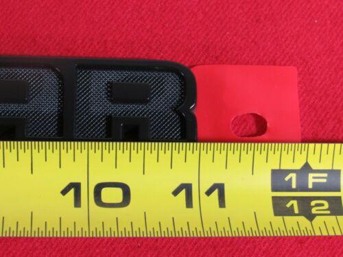 DODGE RAM 2500 3500 Black LONESTAR Tailgate Badge NEW OEM MOPAR