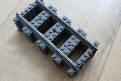 Schiene NEU 60198 60098 60205 60197 LEGO City Eisenbahn Prellbock inkl