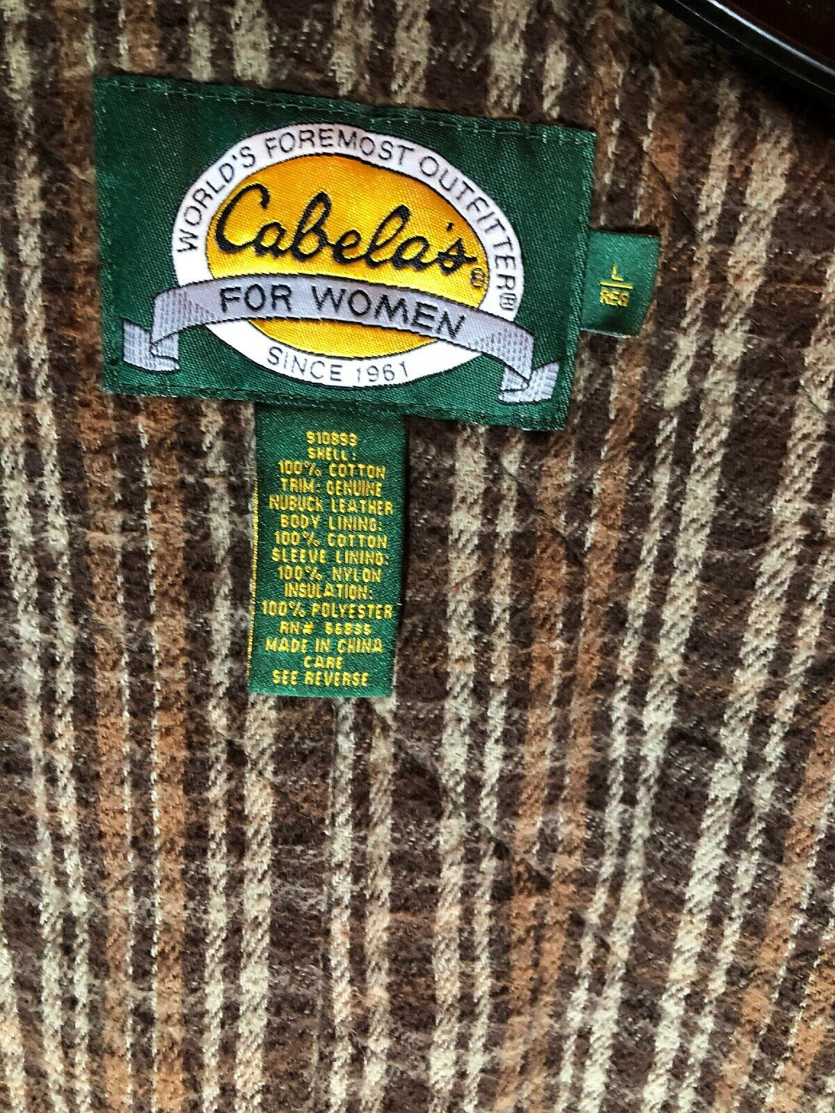 Cabela's Worlds Foremost Outfitter Zip Up Jacket … - image 12