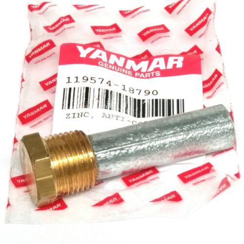 6LP -119574-18790 Yanmar Pencil Anode - fits 4LHA Large