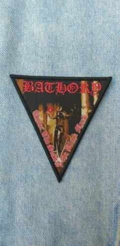 Venom Bathory Celtic Frost Mercyful Fate King Diamond woven patch black metal