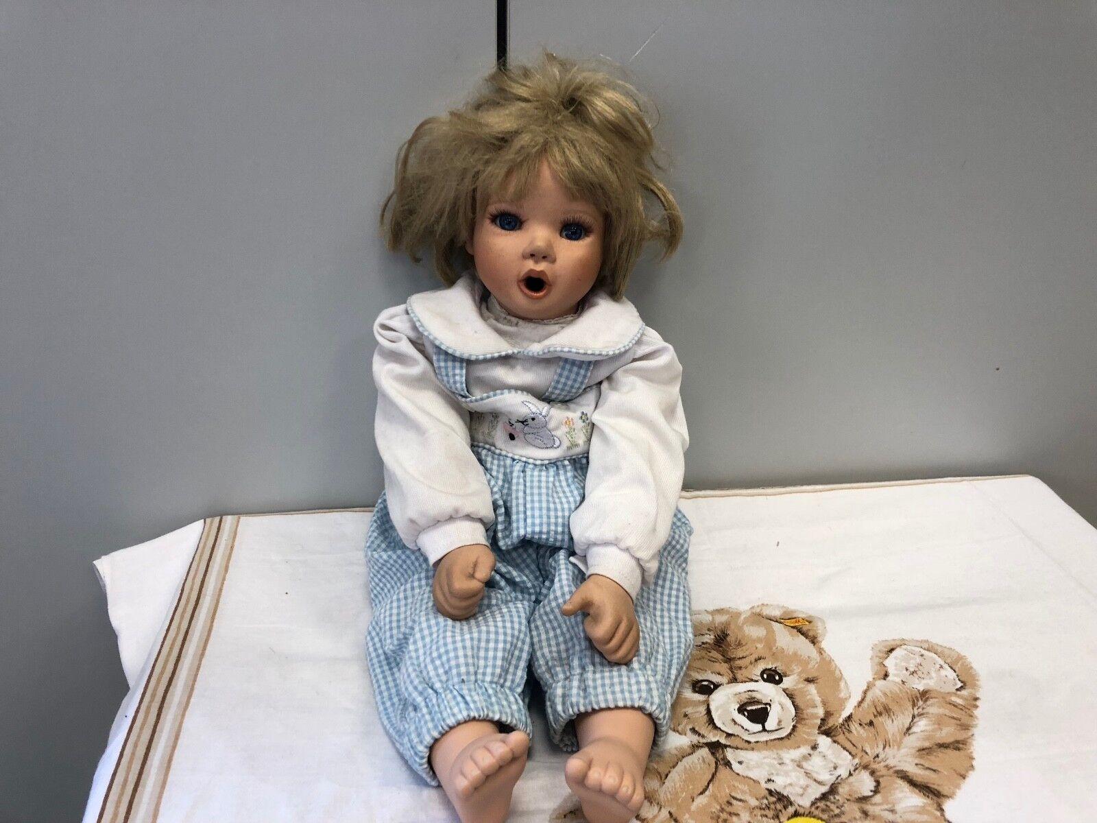 Jessica Jessica Jessica Sauer bambola di porcellana 50 cm. edizione limitata. BUONO stato fcbc4c