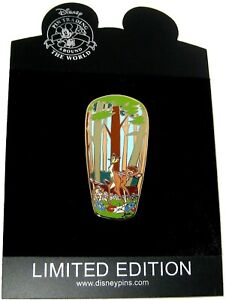 New Rare Le 100 Disney Auction Pin Bambi Butterfly Thumper Gomes Artist Signed Ebay