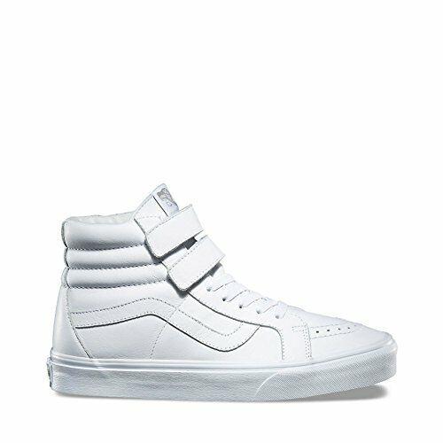 b513a24200 VANS Sk8 Hi Reissue Mono Leather True White Men s Skate Shoes Size 11.5 for  sale online