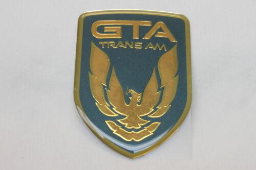 1992 Trans Am GTA Dark Green Gray Front Bumper Emblem New