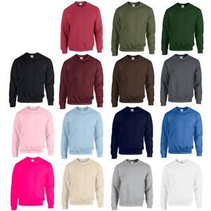GILDAN-Sweatshirt-Heavy-Blend-M-L-XL-XXL-3XL-4XL-5XL-PULLOVER-HERREN-SHIRTS-NEU