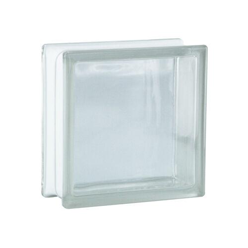 6 piéce BM Brique de Verre Briques de Verre vue compléte Super white 19x19x8cm