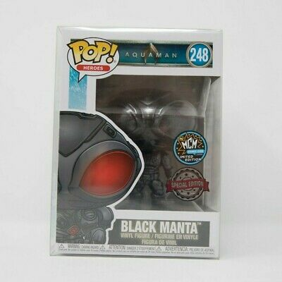 Funko POP DC Comics Aquaman #248 Black Manta MCM Comic Con Limited Ed Exclusive