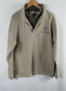 Da-Uomo-Vintage-SOUVENIR-DEL-NORD-ROCKY-alpinista-in-Pile-Giacca-Medio-M-khaki