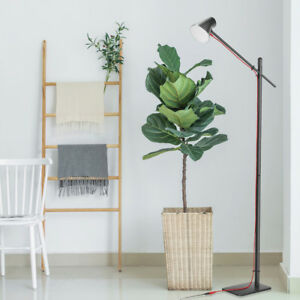 Details About Standing Floor Lamp For Living Room With Foot Switch Modern Lighting
