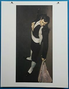 """50 French Imperessionist Masterpiece Edouard Manet """"The Dead Toreador"""" Print"""