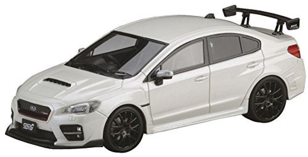 NEW Mark43 1 43 Subaru Wrx Sti S207 Nbr Challenge Age Crystal White Pearl Finish