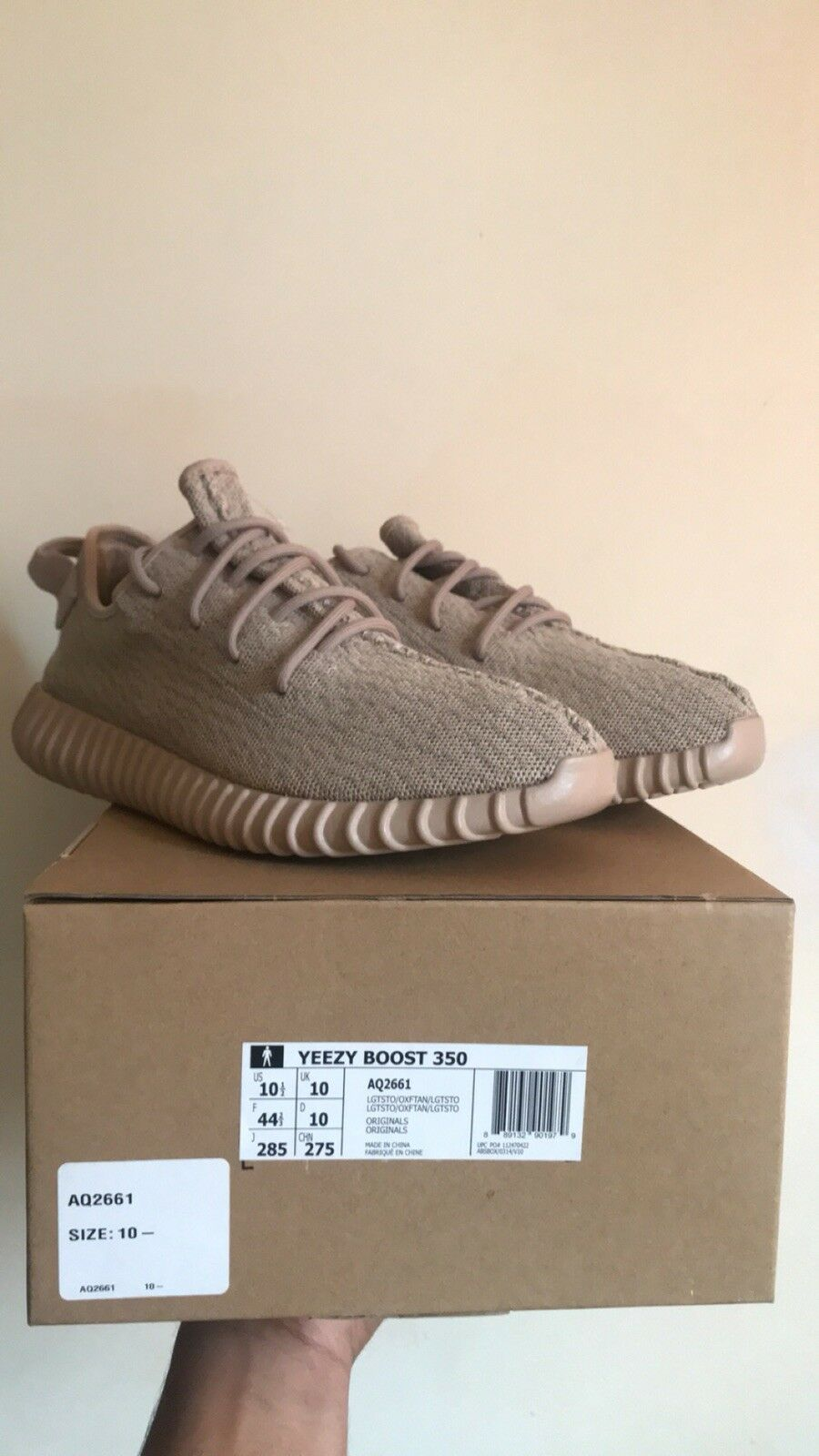 Adidas Yeezy Boost 350 Oxford Tan Size 10.5