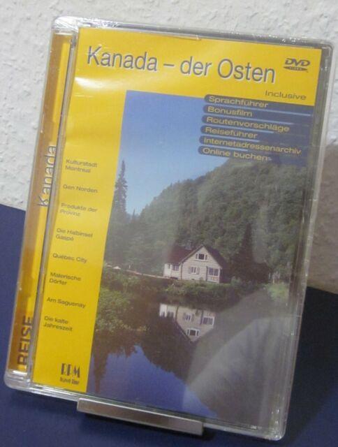Neue DVD Reiseführer Kanada / Der Osten Sprachführer Reise Bonusmaterial