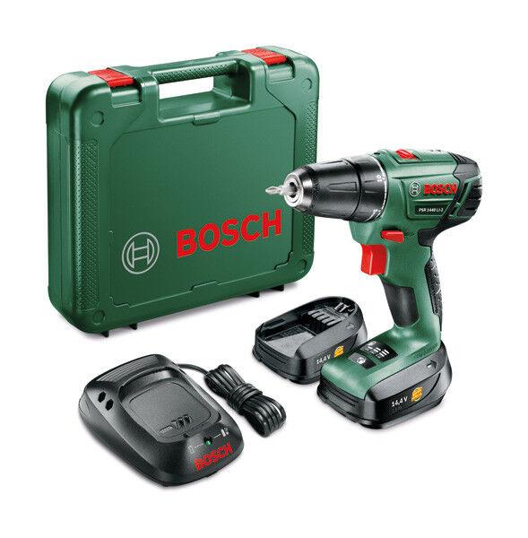 Bosch PSR 1440 LI-2 Akku-Bohrschrauber mit 2 x 1,3 Ah Akku im Koffer (B-Ware)