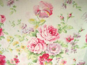 56-034-Remnant-Cottage-Shabby-Chic-Quilt-Gate-RURU-Love-Rose-Love-RU2300-11A-Cream