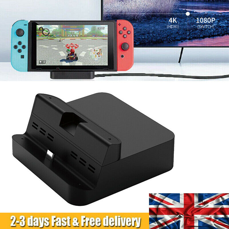 Portable Switch Charger TV HDMI Converter Charging Dock Station Stand TYPE-C