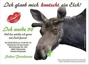 Einladungskarten Zum Geburtstag Tierisch Lustig Wunschtext 2 Grossen